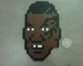 Mike Tyson (updated with tattoo) from NES Game Mike Tyson's Punch-out Fridge Magnet 8-Bit Art German Boxer