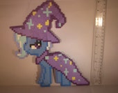 Full Body Great and Powerful Trixie My Little Pony Brony Magnet 8-Bit Art Magician