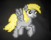 Derpy Hooves Flying My Little Pony Brony Magnet 8-Bit Art Ditzy Doo Derp