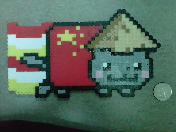 Nyan Cat And Waffle Cat Nyan Cat 8 Bit Art Waffle