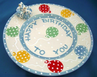 Happy Birthday To You 8 inch Plate