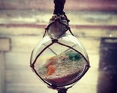 Glass Float Necklace