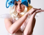 Lady Gaga Blue Telephone Hat