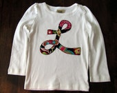 Personalized Initial T-Shirt or Onesie for Customized for Boys or Girls