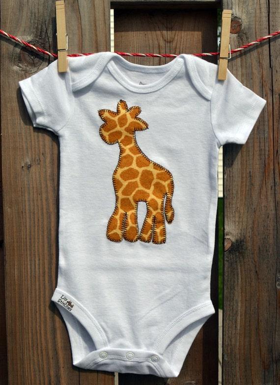 Giraffe Onesie Custom made for Boys and Girls custom order for Freya