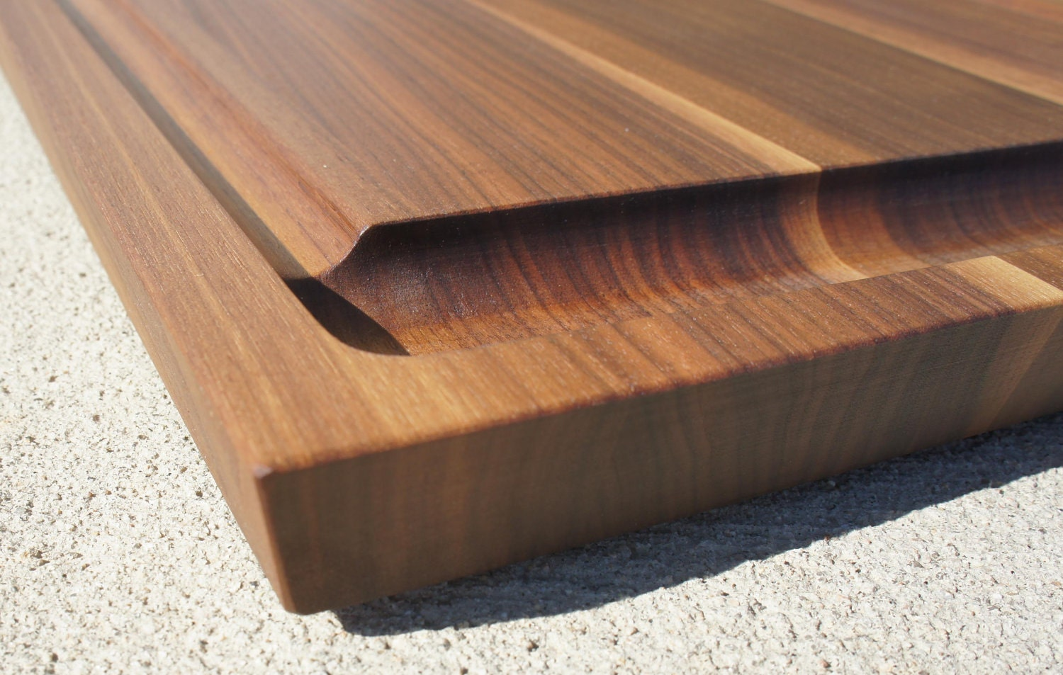 Unique Gift Wood Cutting Board Walnut Cherry Or By Zuernermade