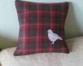 Reserved for Ginny - Custom Pigeon Pillow