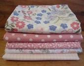 Vintage fabric fat quarter bundle