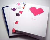 Love Brick by Brick Heart Card