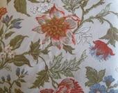 Gabrielle Cie fabric, 8 dollars/yard, vintage floral fabric, floral fabric, home decor fabric, upholstery fabric, shabby chic fabric