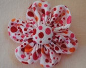 Custom order for Valerie - 2 inch Fabric Flower Clip for Toddlers/Girls/Teens & Women (Local Pickup)