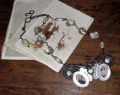 True Love.....One of a Kind Vintage Inspired Necklace