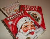 SALE - Set of 3 Vintage Christmas Books