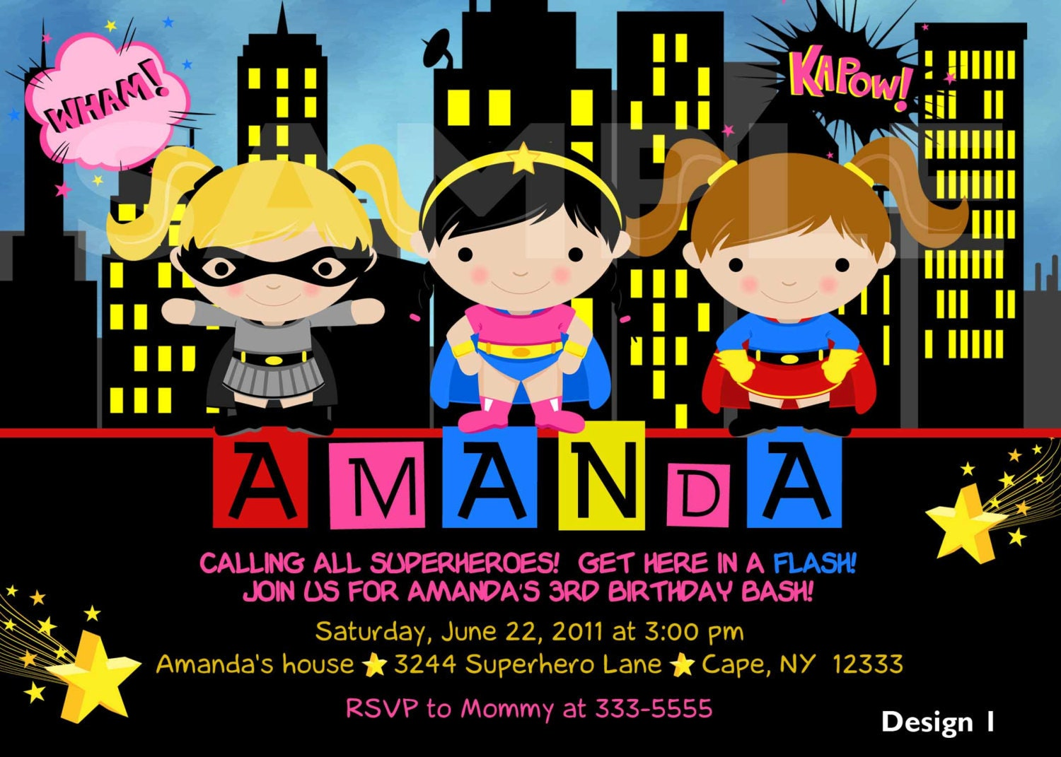 Superhero Party Invites Free was nice invitation sample