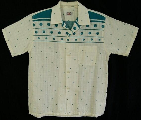 50s -L- Gradation - Gene Vincent - RnR - Rockabilly - Shirt - 1950s - Rare