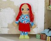 vintage hippie doll