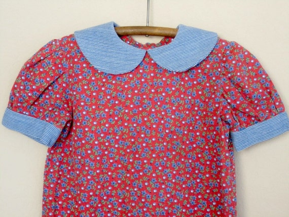 vintage girls dress 4T