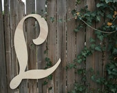 24 Inch Tall Wooden Wall Letters