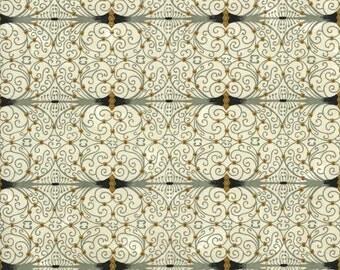 Japanese Yuzen Chiyogami Washi Paper (Abstract Design 11) - A4 Sheet