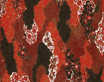 Japanese Yuzen Chiyogami Washi Paper (Panorama Design 01) - A4 Sheet