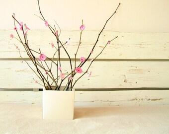 Crochet Pink Sakura tree Blossom Flowers (30 pcs)