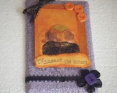 Sunset And Friends Together On Purple Switch Plate Cover