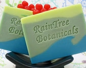 SOAP– Currant Luxury Cold Process Soap with Olive Oil, Avocado Oil and Shea Butter