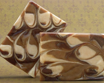 Goat Milk Soap- Chai Latte Cold Process Soap with Hemp Seed Oil