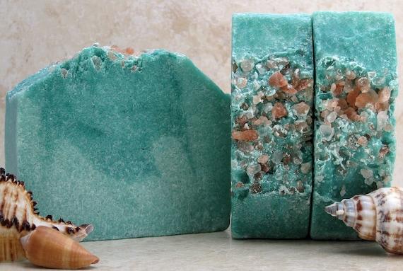 Salt Soap– Mediterranean Spa Cold Process Sea Salt Soap
