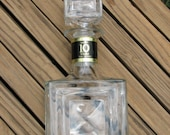 Vintage Old Fitzgerald Kentucky Whiskey Decanter Wheaton Glass 10% OFF Sale
