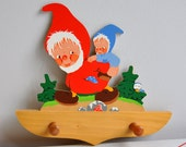 Playful Gnomes Wall Hooks - Mertens Kunst German