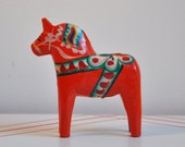 Swedish Dala Horse by John Gudmunds
