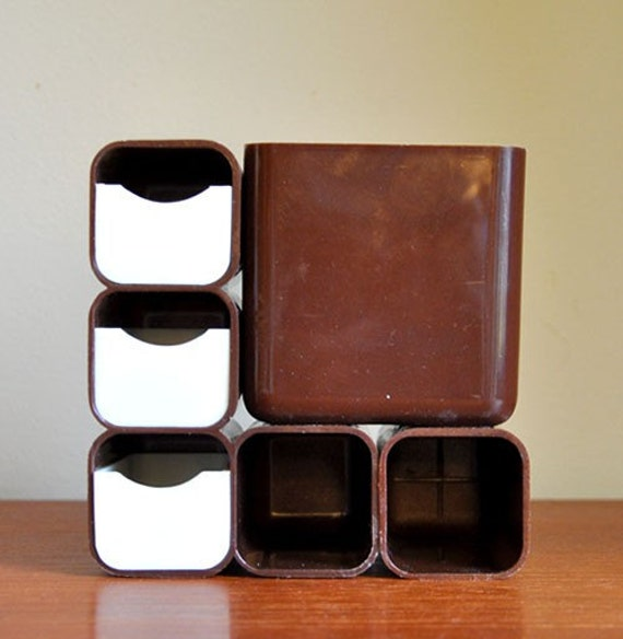 1970 modular desk organizer by mistertrue on etsy - Modular desk organizer ...