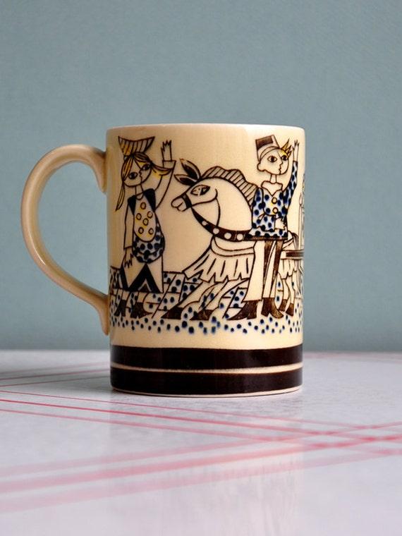 Figgjo Flint Abstract Style Mug