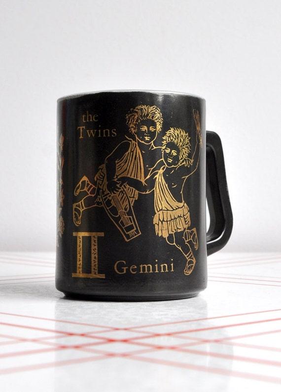 "Federal Zodiac ""Gemini Twins"" Mug - May 21 to June 20"
