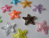 CLEARANCE twinkle twinkle little star applique - set of 10