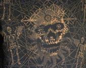 SkullSpace Men's Large Art Shirt