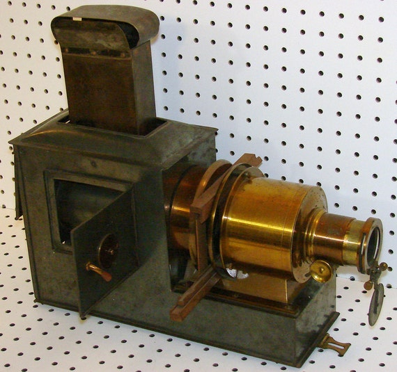 1860 to 1900 Victorian Magic Lantern, Paris & European Patents