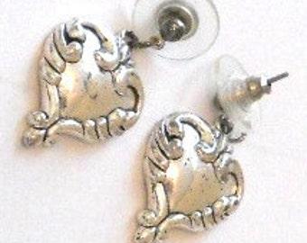 BRIGHTON  Silver Heart Earrings