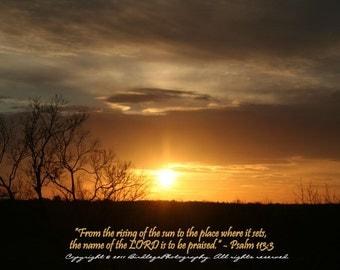 Hwy 288 Sunset,  Virginia