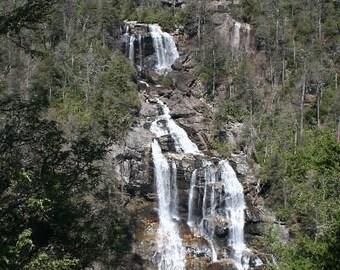 Whitewater Falls - North Carolina Water Falls