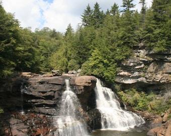 Blackwater Falls - West Virginia Water Falls
