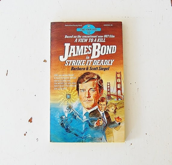 James Bond Book Find Your Fate No. 12 Strike It Deadly