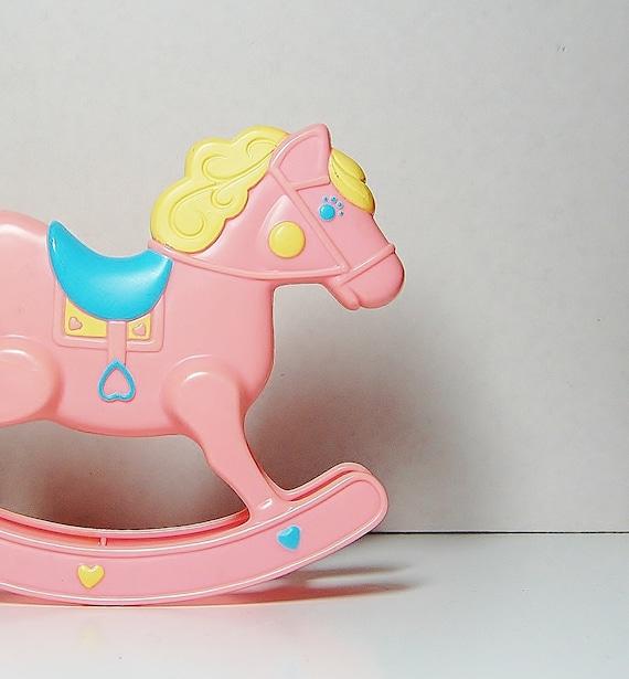 Barbie Doll Rocking Horse Mattel Heart Family