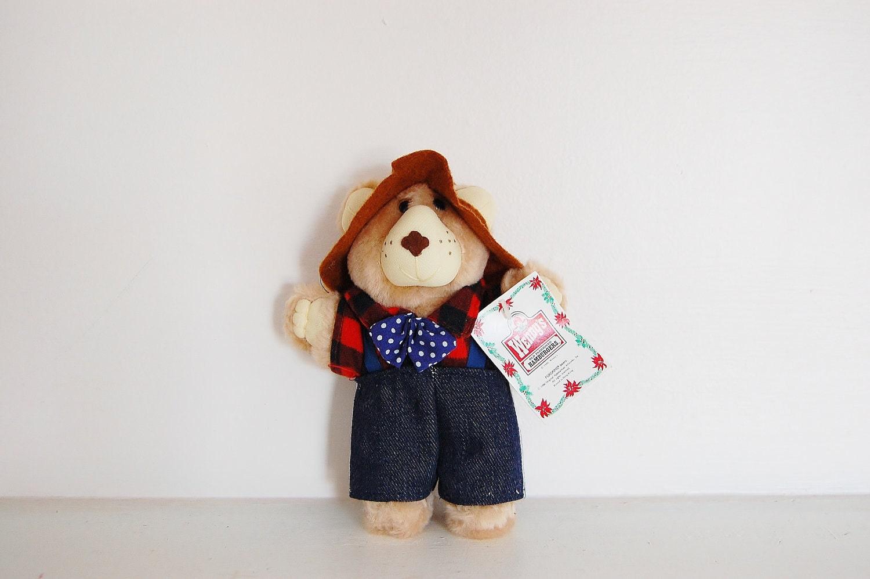 Vintage Wendy S Furkins Teddy Bear Kid S Toy