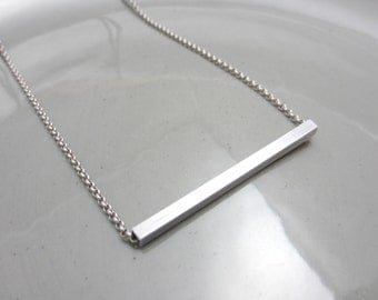 Minimalist Aluminum Necklace Contemporary Jewelry Design