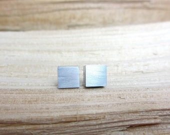 Minimalist Earrings Contemporary Industrial Jewelry Aluminum Jewelry