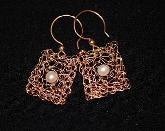Square Nest Earrings