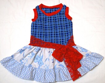 CLEARANCE Size 18 mo - 3T Americana Dress CLEARANCE