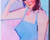 """Alva"""" Original oil  on canvas 12"""" x 16"""""""